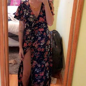 Wrap dress from LuLus